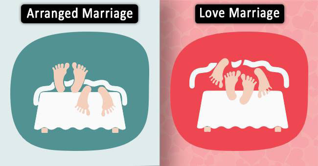 5 Differences Between Love and Arranged Marriages