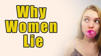 why women lie