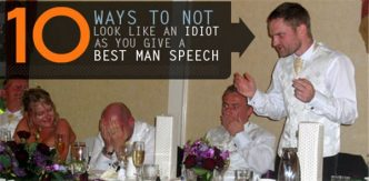Tip For Writing a Best Man Speech