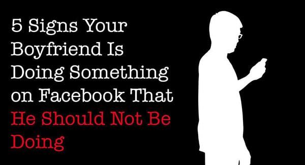 Boyfriends on Facebook