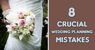 wedding planning mistakes