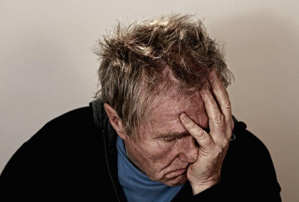 man after breakup
