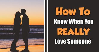 how to know when you really love someone
