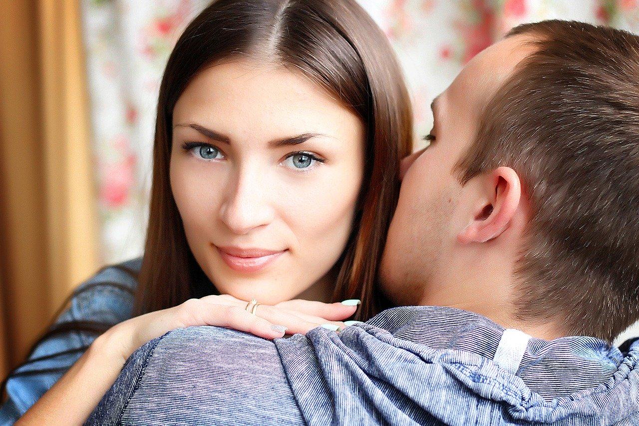 man forgiving woman