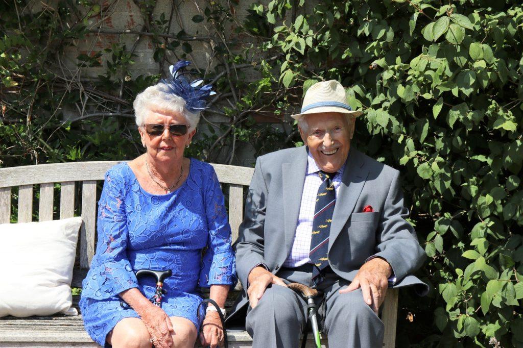 older happy couple