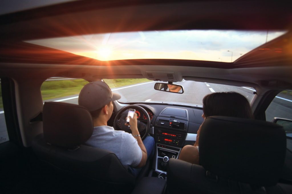 driving in summer
